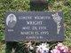 Lorene Wilmoth <I>Wilmoth</I> Wright