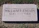 William R Emison
