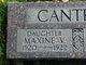Maxine Virginia Cantrell