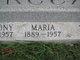 """Mary """"Marie or Maria"""" <I>Sodaro</I> Caracci"""