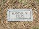 Martha Ellen <I>Weddle</I> Ellis