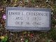Linnie L <I>Taylor</I> Crosswhite