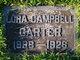 Lora <I>Campbell</I> Carter