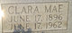 Clara Mae <I>Hammonds</I> Bowles
