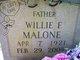 Willie Frank Malone