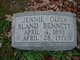 "Profile photo:  Johanna ""Jennie"" <I>Oliva</I> Bennett"