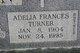 Profile photo:  Adelia Frances <I>Turner</I> Allen
