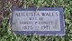 "Profile photo:  Augusta ""Gussie"" <I>Walls</I> Conley"