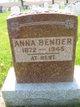 """Profile photo:  Anna """"Annie"""" Bender"""