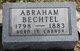 Profile photo:  Abraham Bechtel