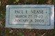 Profile photo:  Paul E Nease
