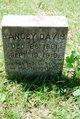 Profile photo:  Yancy B. Davis