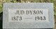 "Profile photo:  Jeheu ""Jud"" Dyson"