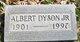 Profile photo:  Albert Dyson, Jr