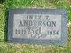 Inez T Anderson