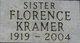 Florence M. <I>Lupo</I> Kramer