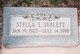"""Stella L """"Stell"""" <I>Brown</I> Sublett"""