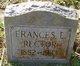 """Frances Elizabeth """"Fannie"""" <I>Griffin</I> Rector"""