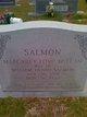 Margaret Love <I>McLean</I> Salmon