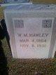 W. M. Hawley