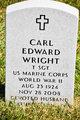 Profile photo:  Carl Edward Wright