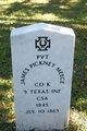 Profile photo: Pvt James Pickney Meece