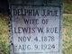 Delphia J. <I>Wilson</I> Rue