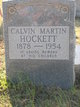 Calvin M Hockett