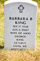 Profile photo:  Barbara B King
