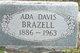 Profile photo:  Ada Lee <I>Davis</I> Brazeal