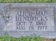 Profile photo:  Alice Mae Hendricks