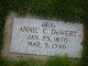 Profile photo:  Annie C. DeWert