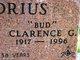"""Profile photo:  Clarence G """"Bud"""" Buddrius"""
