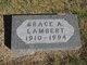Grace A Lambert