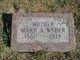 Mary A <I>Geherity</I> Weber