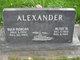 Profile photo:  Alton M. Alexander