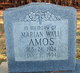 Marian <I>Wall</I> Amos