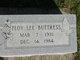 Floy Lee <I> </I> Buttress,