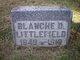 Blanche D. <I>Maynard</I> Littlefield