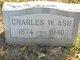 Profile photo:  Charles Wilson Ash