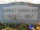 """Profile photo:  Harriet E """"Hattie"""" <I>Cordon</I> Ash"""