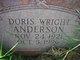 Profile photo:  Doris Wright Anderson