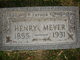 Henry Wilhelm Meyer