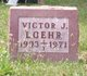Victor John Loehr