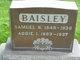 Profile photo:  Addie I. <I>Warfield</I> Baisley