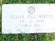 PFC William Paul Webster