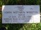 John Weyman Webster