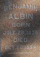 Profile photo:  Benjamin Albin