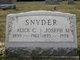 Joseph M Snyder