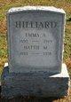Emma A Hilliard